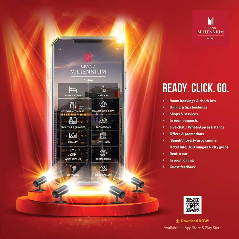 Grand Millennium Dubai launches mobile app for guests and